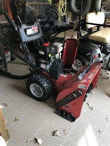 "Craftsman 27"" two-stage power propelled snowblower"