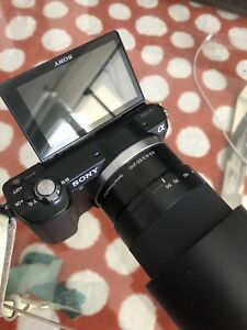 Sony a5000 with 2 lens kit