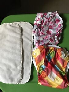 Assorted Cloth diapers