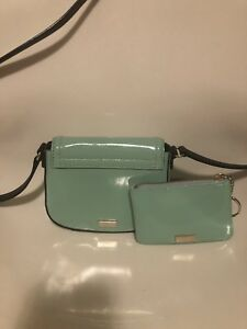 Authentic katespade mini crossbody bag and coin purse