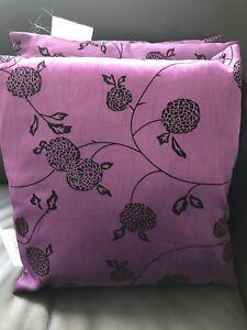 3 coussins de sofa cushions