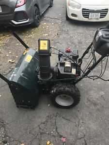 30 inch snowblower