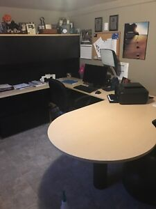 Commercial grade office desk