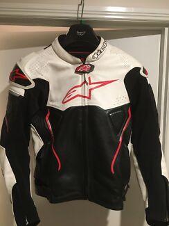 Alpinestars ATEM Leather Jacket size 50 Alpinestars Top Jacket  Nerang Gold Coast West Preview