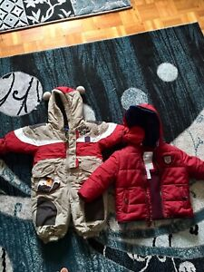 Snow suit and winter coat