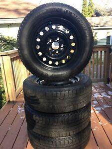 Michelin Latitude X-ICE Snow Tires w/ Rims