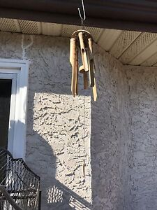 Wind chime wooden