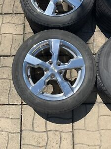 Chevrolet Volt Factory OEM Polished 17 Inch Wheels Mags