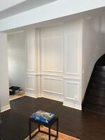 Wainscoting/Accent Walls / Millwork and trim