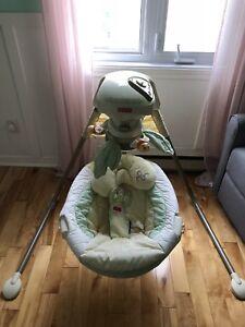 Balançoire papasan cradle swing