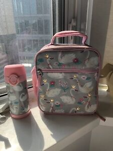 Pottery barn kids Lunch bag and water bottle