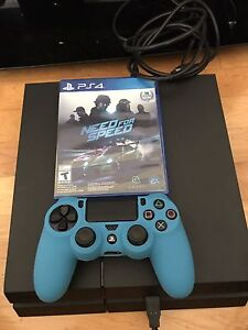 Playstation 4  1 TB Console plus  1 game Need for Speed,
