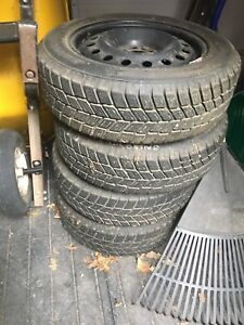 205/60R16 winter tires - barely used