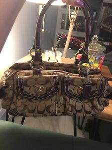Coach inspired purse