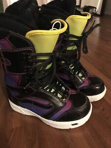 Vans Snowboard Boots - Size 8