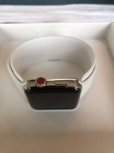 Apple Watch series 3 42mm LTE stainless steel with AppleCare+