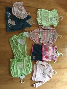 Girls New Clothes - Size 12m-24m