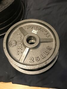Poids olympiques 50 lbs