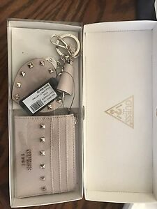 Brand new guess card wallet and keychain