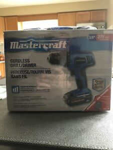 Mastercraft Cordless Drill/Driver with Accessory Set