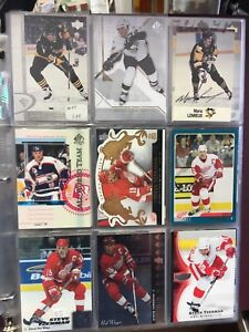 Lot de carte de Hockey
