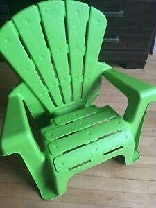 Outdoor toddler chair
