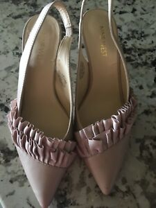 Nine West sling backs
