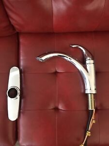Peerless kitchen faucet with sprayer, never installed!