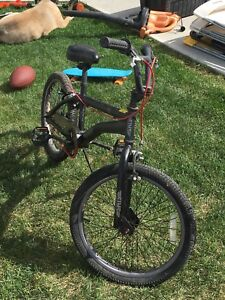 Black bmx bike for sale