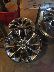 Chrome Rims 18x8.5