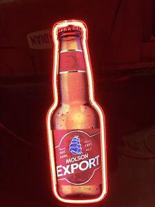 Neon beer signs