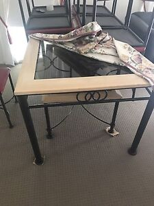 Dining table with matching coffee tables Casula Liverpool Area Preview