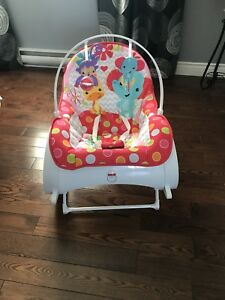 Rocker / bouncer baby seat