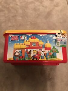 Mega Bloks Firsr Builders 95 Pieces - Farm