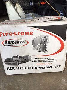 Firestone ride-rite Airbags and Compressor with digital control