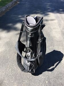 Bag, Irons, and Wedge
