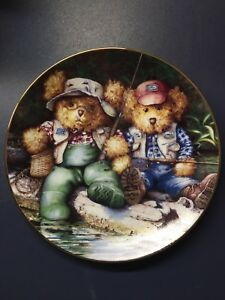 Laura Berry Collector Plate - Fishin' Buddies