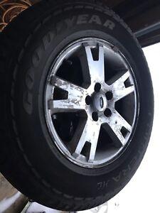 Mags et pneu été Ford Explorer