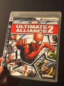 MARVEL ULTIMATE ALLIANCE 2 (AVENGERS GAME!) - Great condition