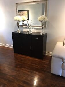 Beautiful and rich dining room set ( table chairs and buffet)