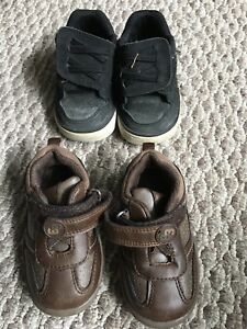 Toddler size 5 boy shoes