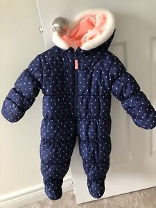 Snow suit Carters 12m