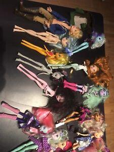 Monster High, Ever After High et Equestria Girls