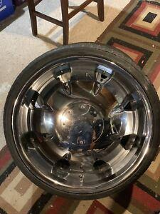 "22"" MetalFX with low profile tires"