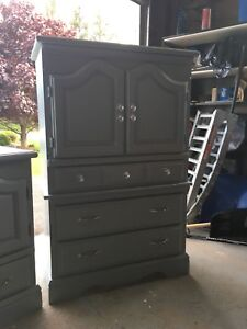Refinished Solid Wood Dressers