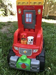 Mega Bloks Coffret Camion pompiers