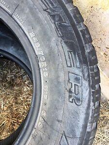 Free - Bridgestone 245/70R16 dueler at x2 Lesmurdie Kalamunda Area Preview