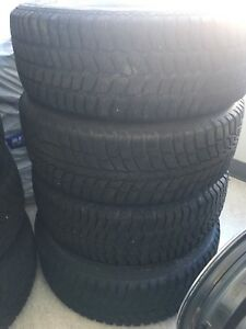 *SOLD* Winter tires 215-60-16