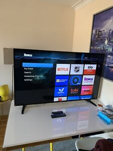 Haier 55 inch 4K TV with Roku smart system