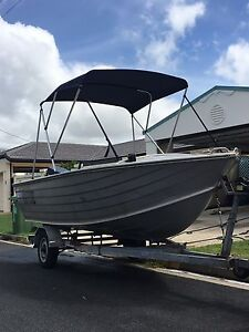 4.5m Seajay with 40hp 2 stroke Yamaha Palm Beach Gold Coast South Preview